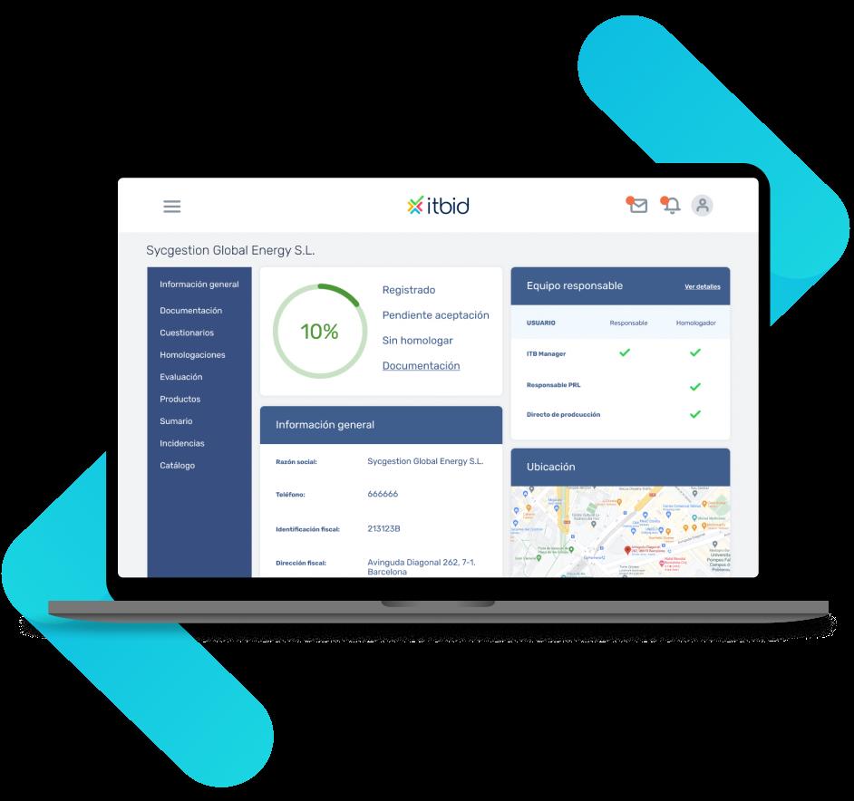 plataforma gestión del proveedor y calidad
